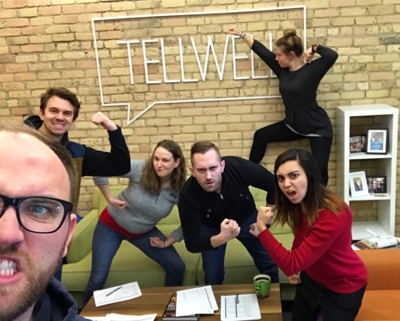 """The Well Tell Challenge: Putting the """"well"""" in """"Tellwell"""""""